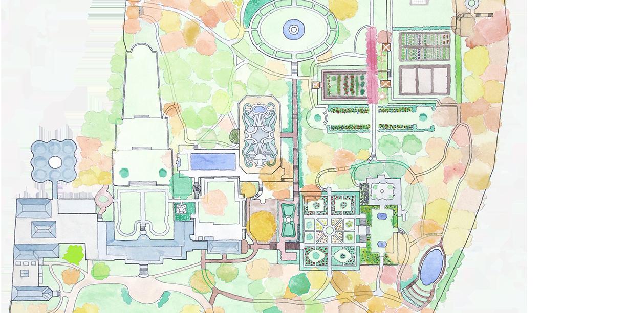 Garden Map Detail