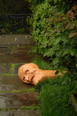 Head (from I, Thou) in the Rose Garden, 2009
