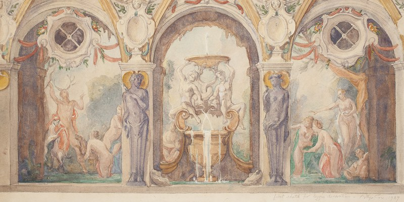 Slider-Loggia Watercolor