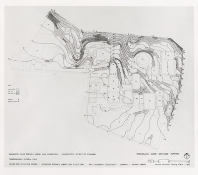Dumbarton Oaks comprehensive physical plan, 1976