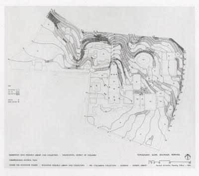 Dumbarton Oaks comprehensive physical plan, 1976
