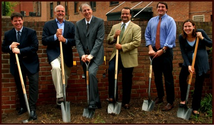 Image from Fellowship House Groundbreaking Ceremony, March 2013