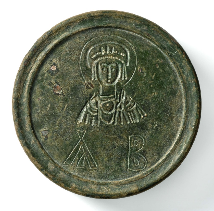 Two-pound weight belonging to Megas, Count of Sacred Largesses