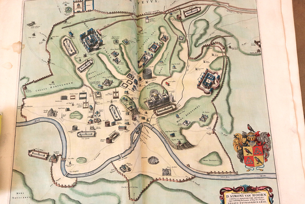Blaeu, Rome Map