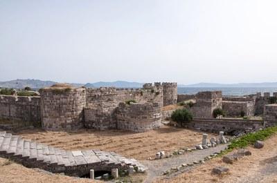 Fig. 3: Kos, Castle of Neratzia, general view (Baldini 2013–2014)