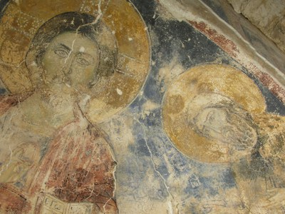 Fig. 6: Christ and Saint John the Baptist in the Deesis scene (Waliszewski and Chmielewski 2009–2010)