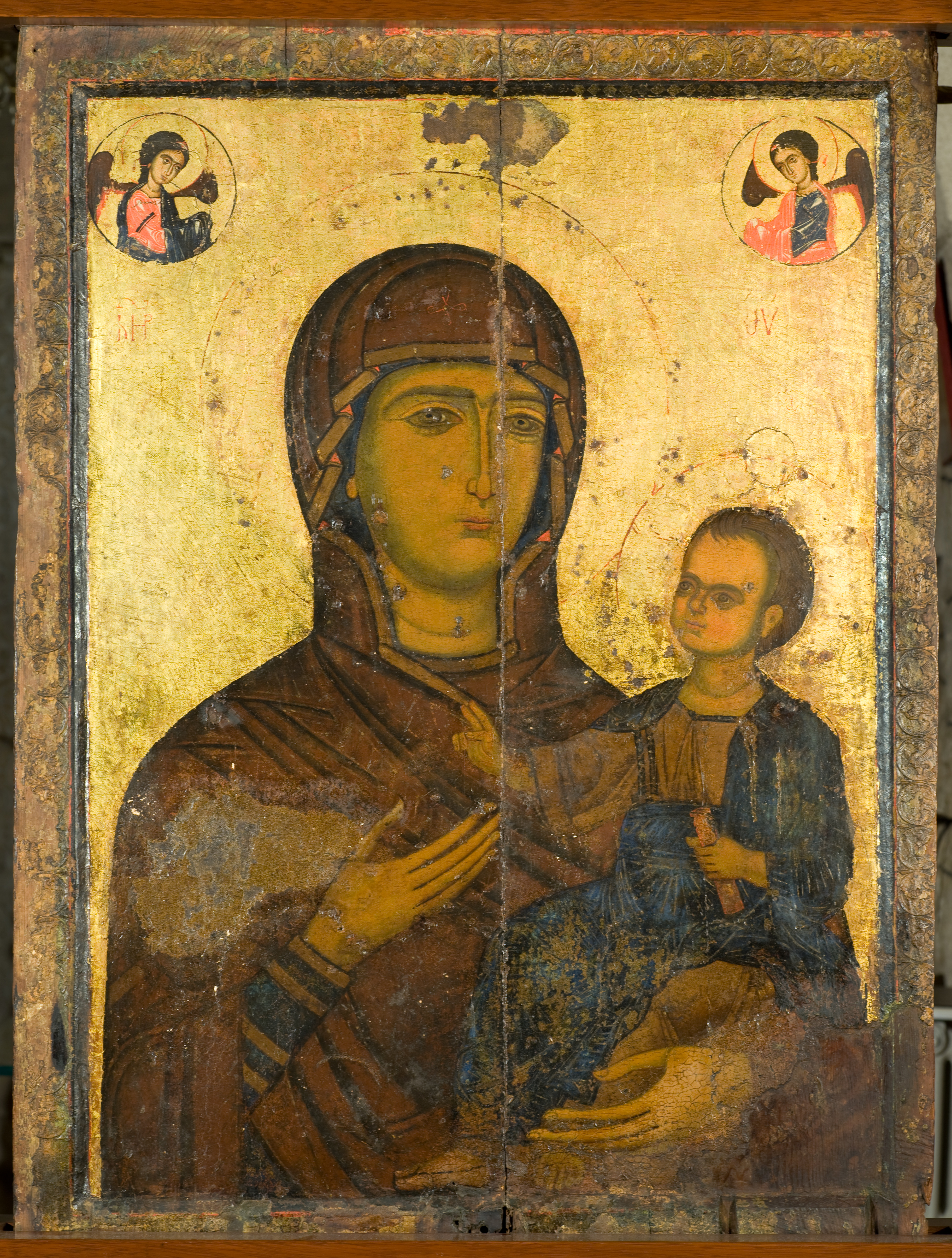 Fig. 13: Hodegetria icon from Kaftûn (Waliszewski and Chmielewski 2009–2010)