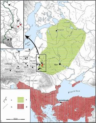 Fig. 1: Cherven Towns area (Wołoszyn et al. 2012–2013)