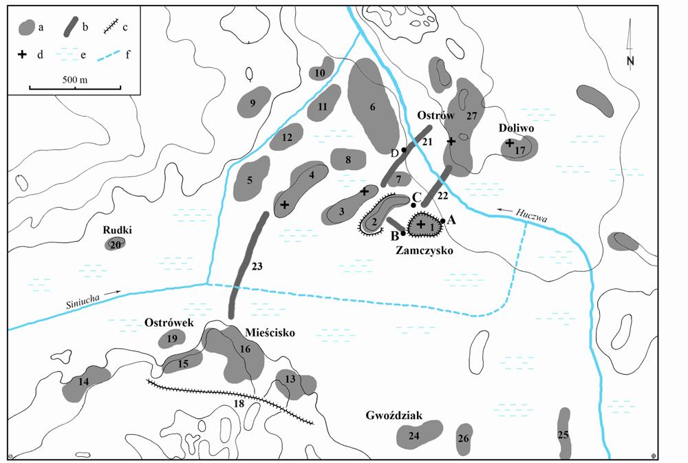 Fig. 2: Czermno complex (Wołoszyn et al. 2012–2013)