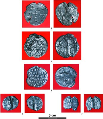 Fig. 5: Lead seals (Wołoszyn et al. 2012–2013)