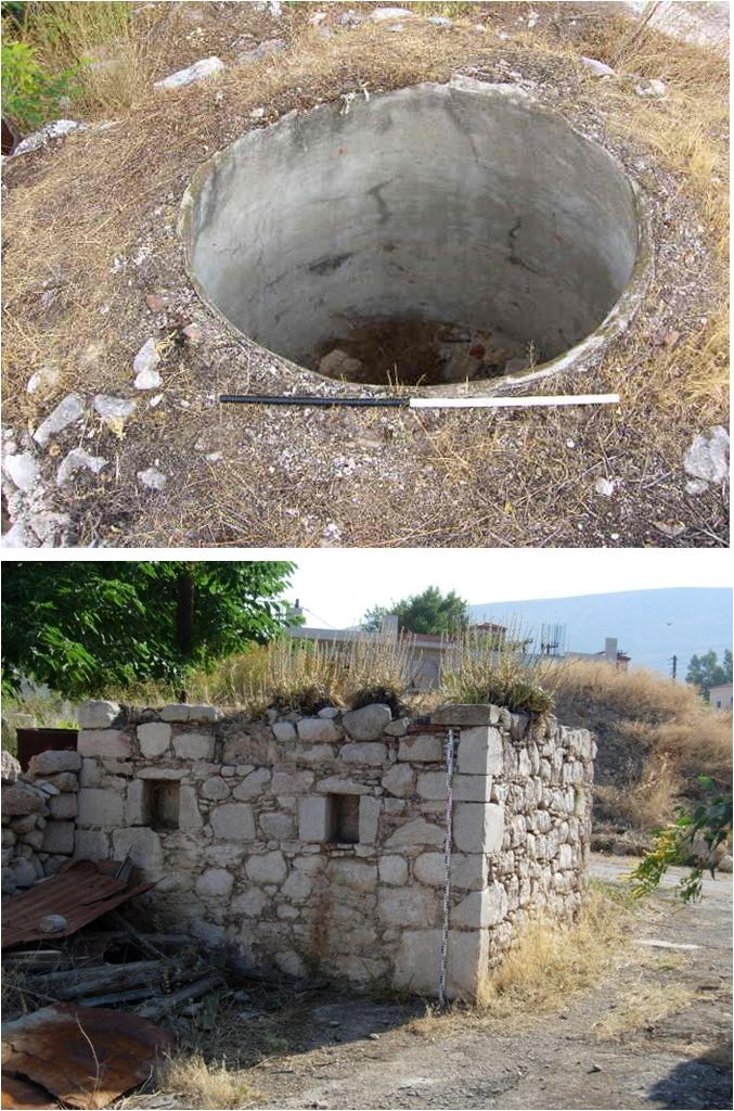 Fig. 4: Post-medieval productive installations of the village of Kastoriya-Kakosi (Dunn 2008–2009)