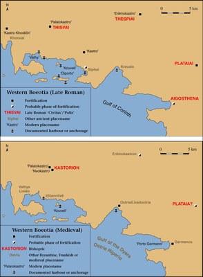 Fig. 2: Western Boeotia (Dunn 2008–2009)