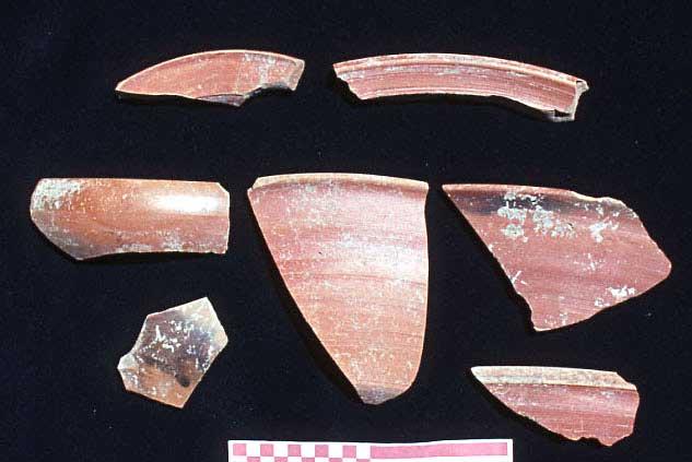 Fig. 6: African Red Slip Ware (Steadman 2005–2006)