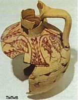 Fig. 16: Partially-reconstructed early Byzantine jar N11/77 (Jackson 2011–2012)