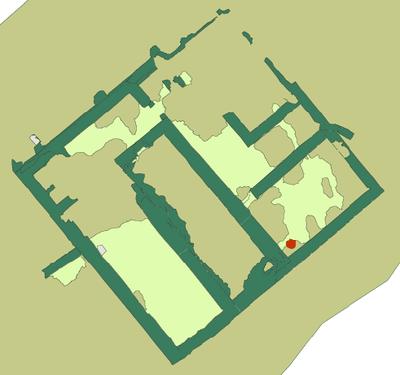 Fig. 5: Unit O mud brick building in Area 1 (Brooks Hedstrom 2006–2007)