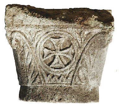 Fig. 4: Capital B.982 of the second order of the south colonnade (Beaudry 2007–2008)