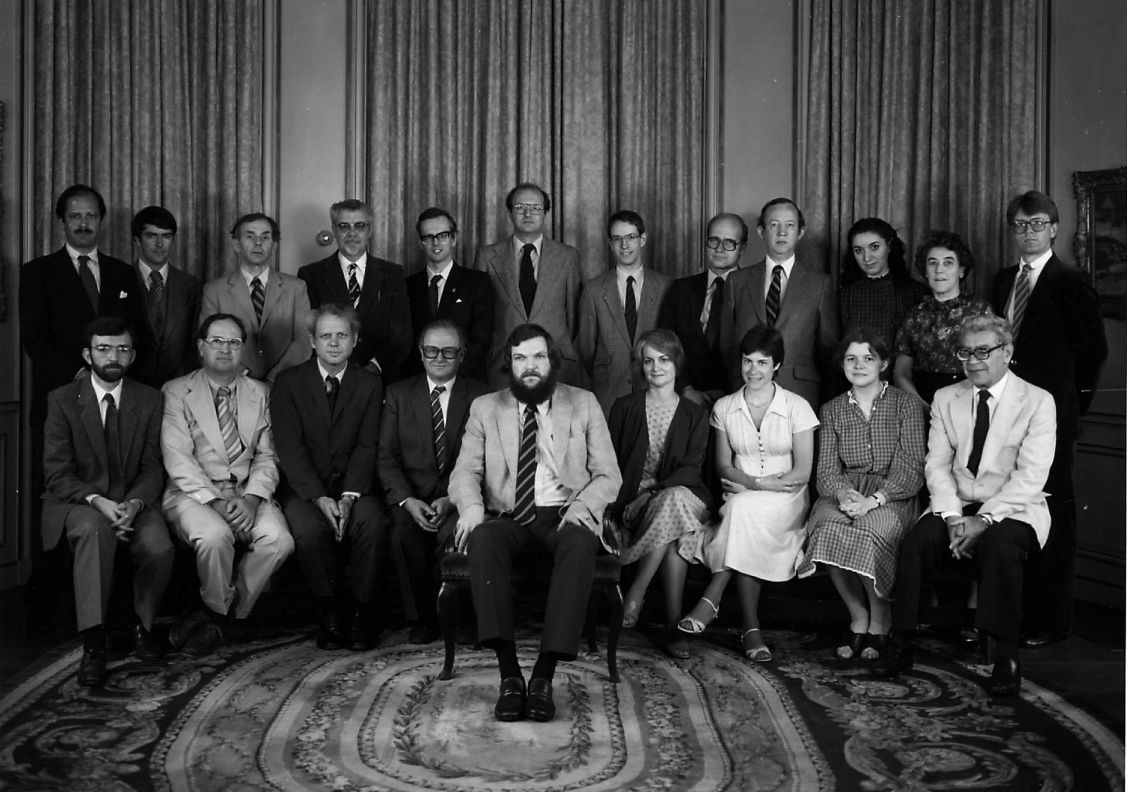 1983 Byzantine Studies Symposium Group Photo
