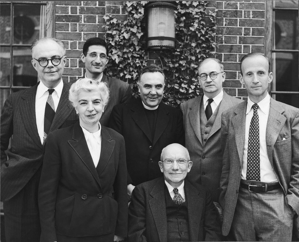 1951 Byzantine Studies Symposium Group Photo