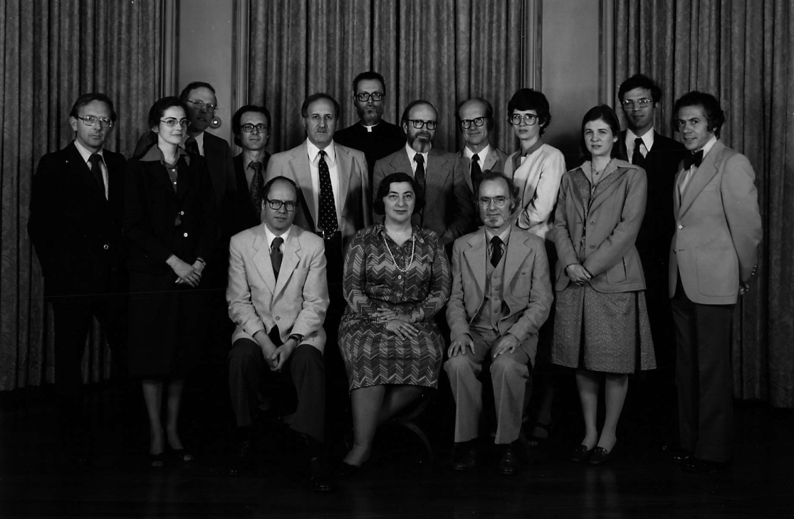 1980 Byzantine Studies Symposium Group Photo