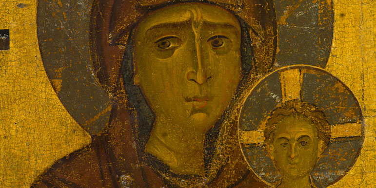 Processional icon of the Virgin Hodegetria