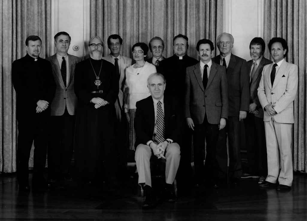 1987 Byzantine Studies Symposium Group Photo