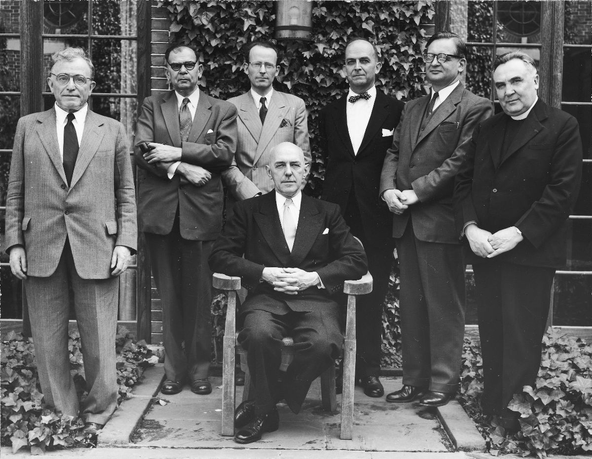 1955 Byzantine Studies Symposium Group Photo