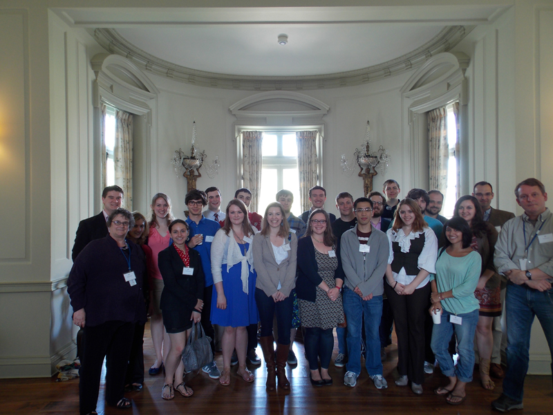 2013 Byzantine Studies Teaching Fellows' Day Group Photo