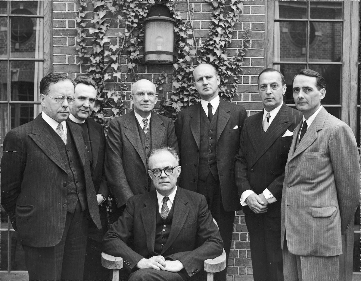 1950 Byzantine Studies Symposium Group Photo