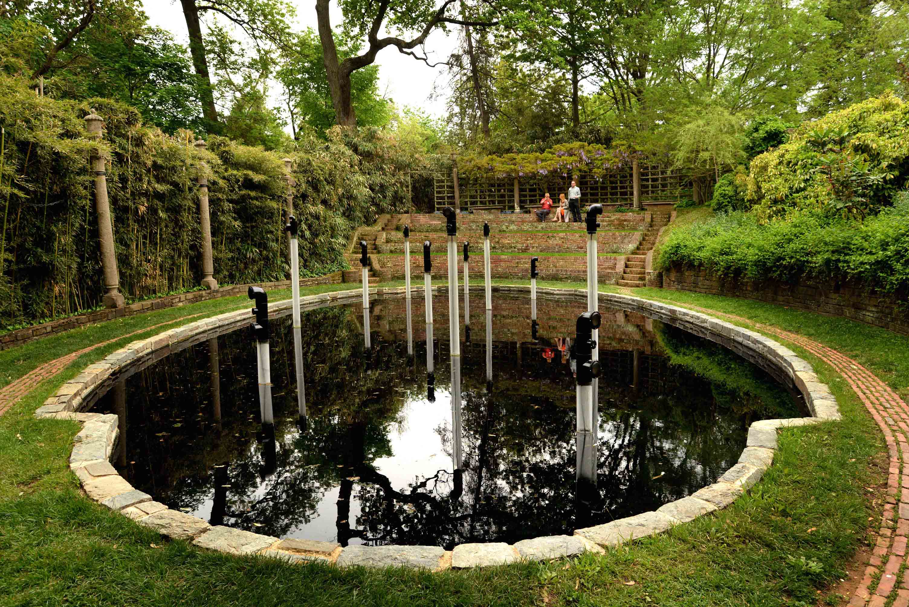 Hugh livingston dumbarton oaks for Garden oaks pool houston