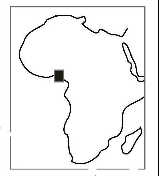 Fig. 1: Nigeria, showing Osogbo (Ogundiran 2011–2012)