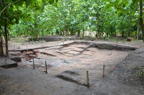 Fig. 5: Excavation Unit in relation to the Artists Village (Ogundiran 2011–2012)