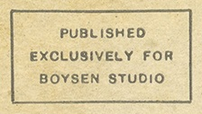 Boysen Studio Credit Line