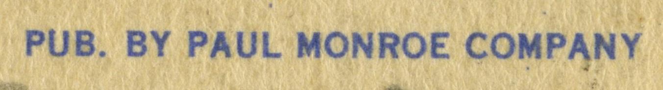 Paul Monroe Company Credit Line