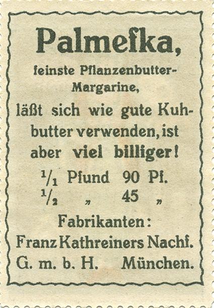 Franz Kathreiners Nachfolger Stamp Advertising