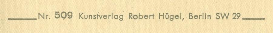 Kunstverlag Robert Hügel Credit Line