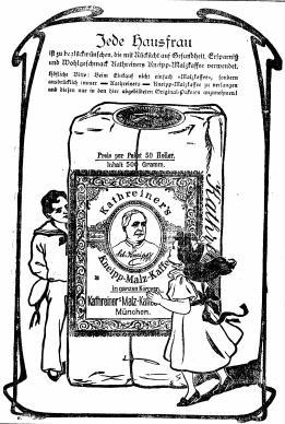 Kathreiner's Advertising, 1903