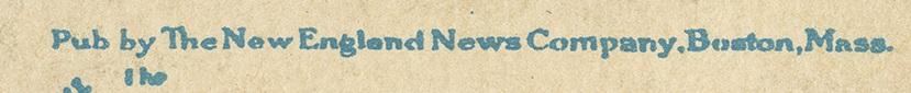 New England News Company Credit Line