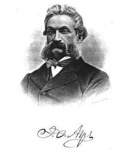Dr. James Cook Ayer (1818–1878)