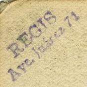 Hotel Regis Stamp