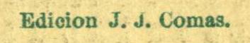 J.J. Comas Credit Line