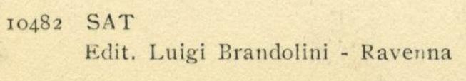 Luigi Brandolini Credit Line