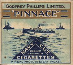 Pinnace Cigarette Packet