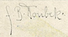 Franz Bohumil Doubek's Signature