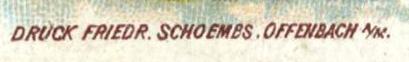 Friedrich Schoembs Credit Line