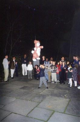 Swinging at the Piñata
