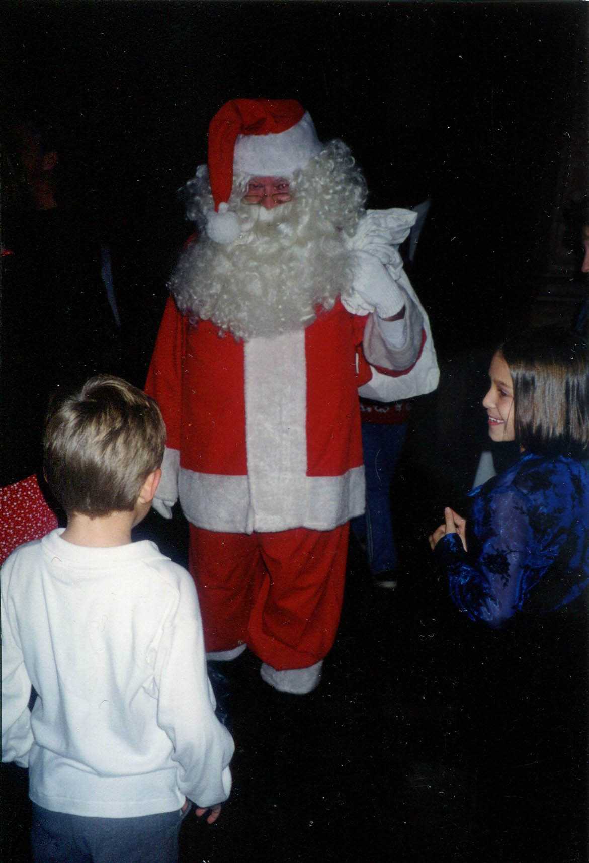 """Santa and the """"Naughty or Nice"""" Question"""