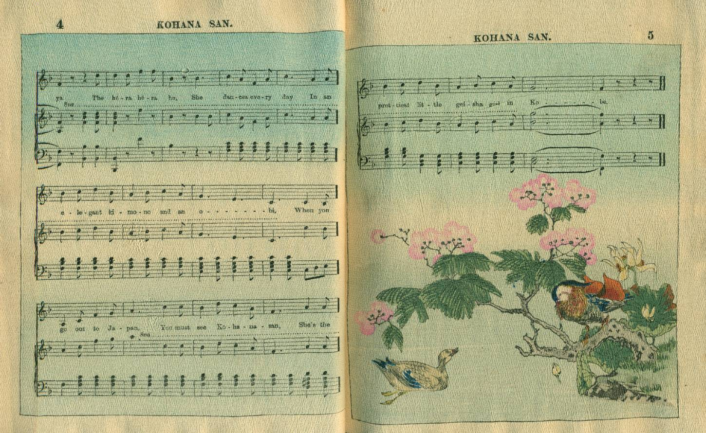 Pages 4 and 5