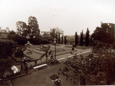 Bosch Palace, Paterre Garden, ca. 1930