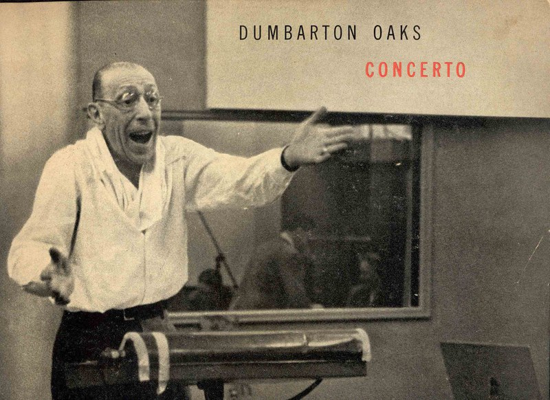 Dumbarton Oaks Concerto Album Cover