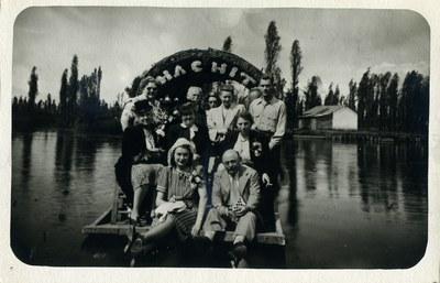 Alexander Vasiliev in Mexico. Dumbarton Oaks Archives, AR.PH.Misc.215